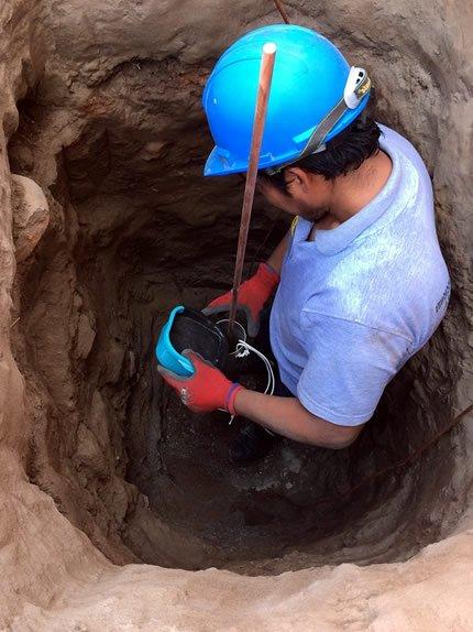 Instalación mantenimiento de pozos a tierra